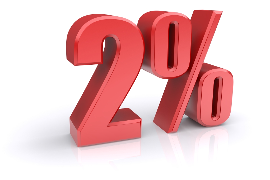 Be One Of The Two Percent